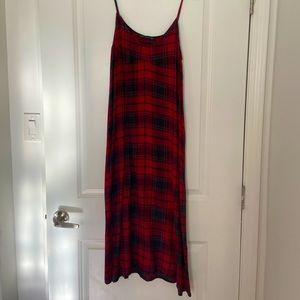 Zara, plaid slip dress, size Medium